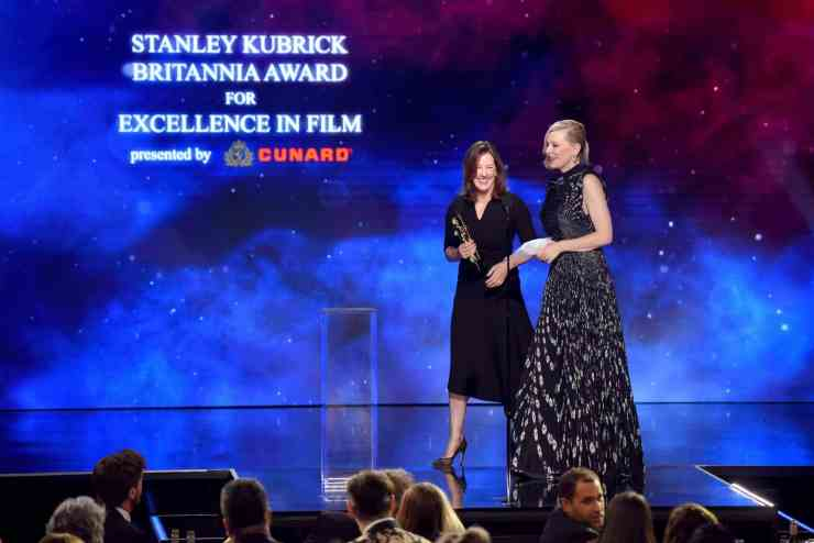 Cate Blanchett was awarded the Stanley Kubrick Britannia Award for Excellence