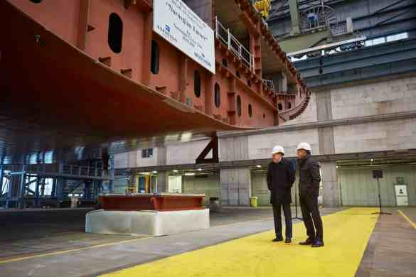 Norwegian Cruise Line Unveils Entertainment Line-Up for Norwegian Encore at Keel Laying Ceremony | 18