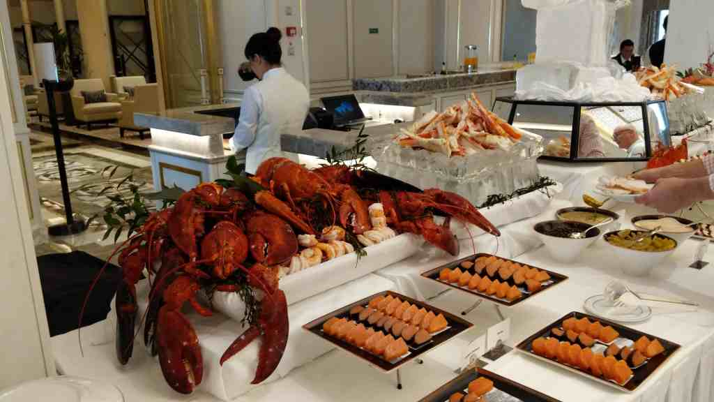 Save your appetite for Sunday Brunch aboard Regent Seven Seas Splendor.