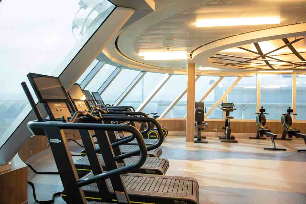 Fitness Center aboard Regent Seven Seas Splendor