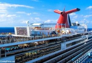 List of Features Found on Each Carnival Cruise Ship