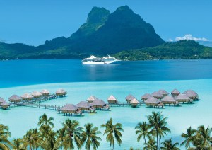 International Cruise Terminal Opening in Tahiti
