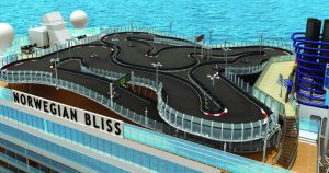 Go Kart Track Being Added to 2nd Norwegian Cruise Ship