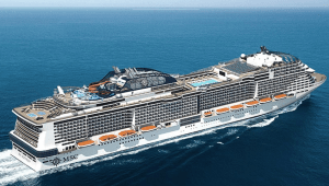 MSC Cruises Launches High-Tech Man Overboard Surveillance