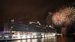 MSC Cruises Christens Iconic Cruise Ship, MSC Seaview