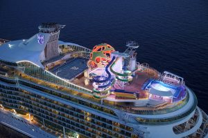 Video of Royal Caribbean Cruise Ship's New Sports Deck