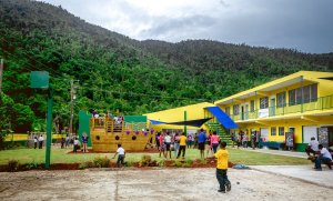Cruise Line Pays for New School Built in the Caribbean