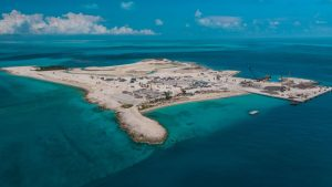Cruise Line's New Private Island Enters Final Stage of Construction