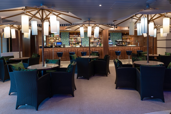 Gondola-Lounge Außergewöhnlich - Bilder von Bord der COSTA VENEZIA