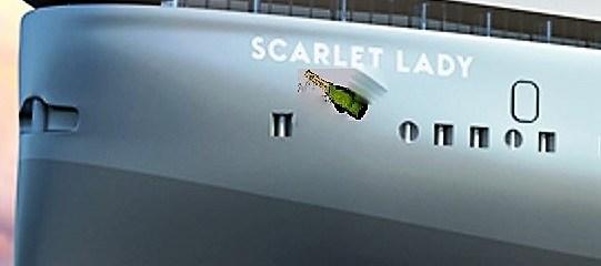SCARLET LADY getauft