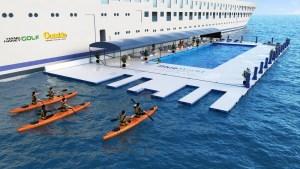 Blue World One - Sea Water Lap Pool