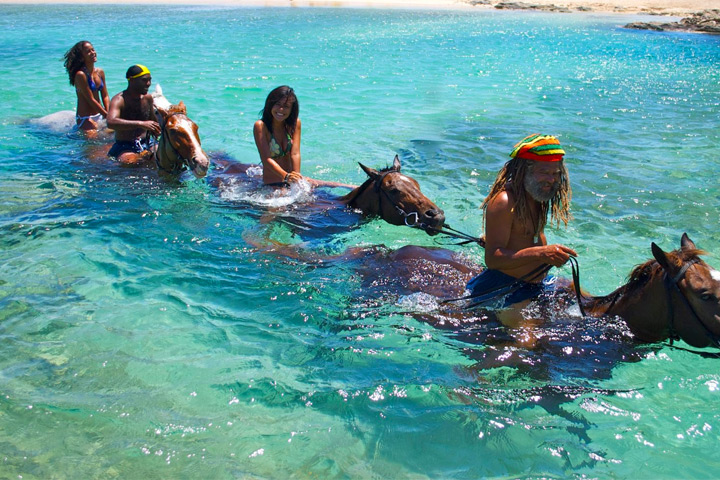 Braco Stables Riding on the Beach