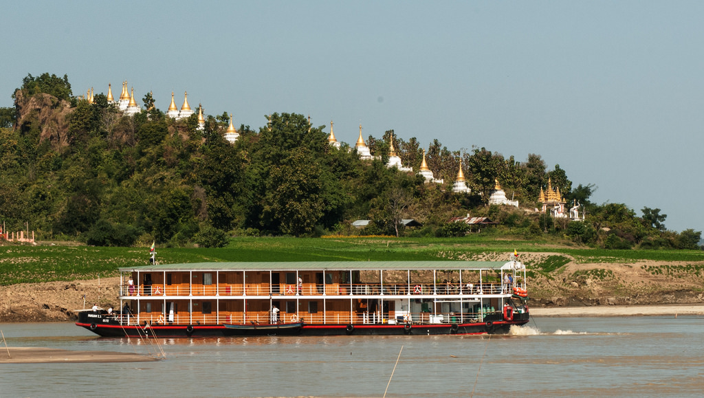 Irrawaddy Floden byder på masser af smukke og interessante synsindtryk undervejs
