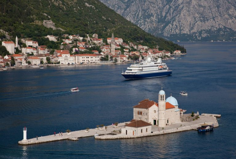 SeaDream II i Kotor, Montenegro