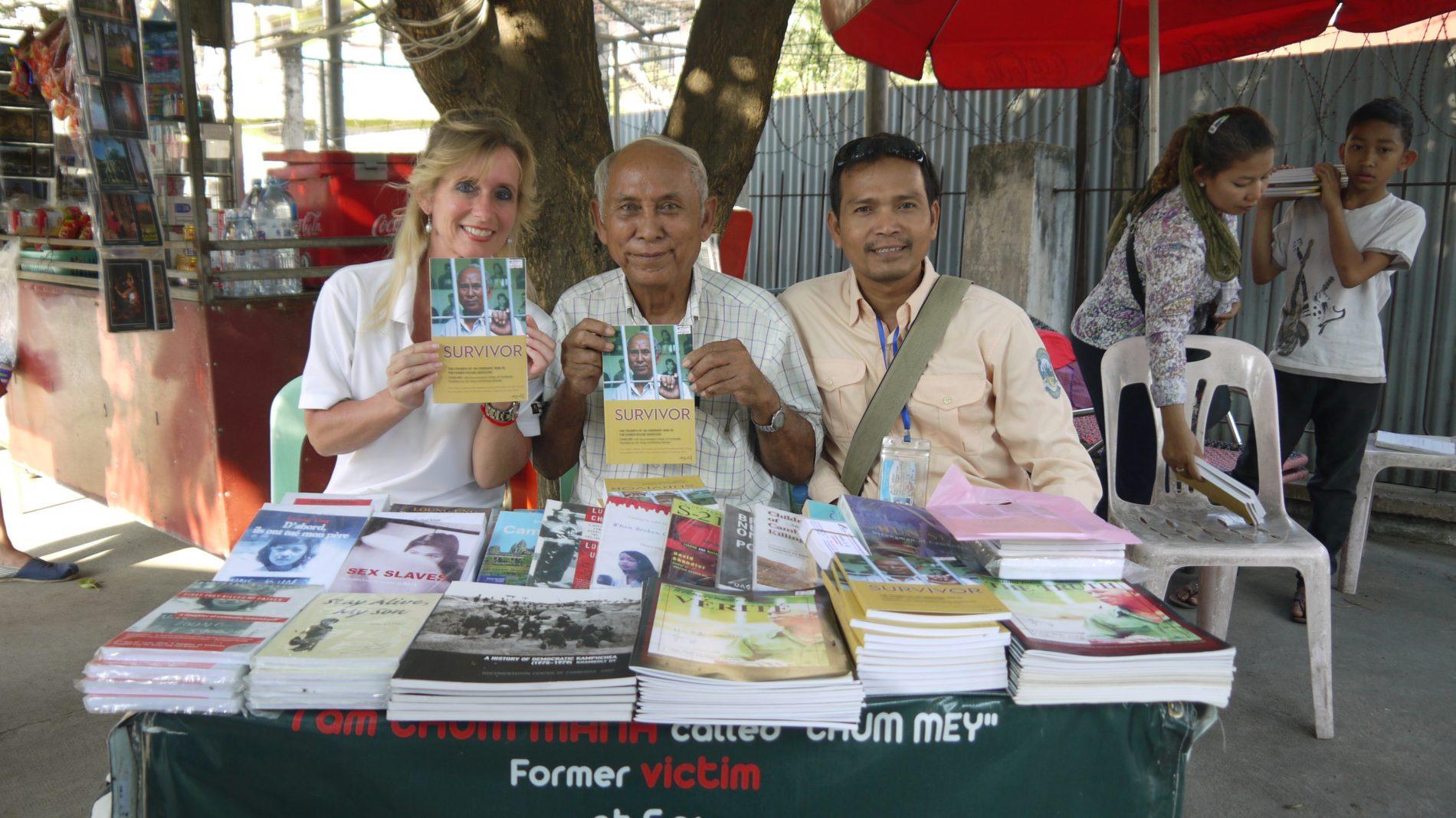 En af de få mennesker, der overlevede i Toul Sleng Genocide fængslet