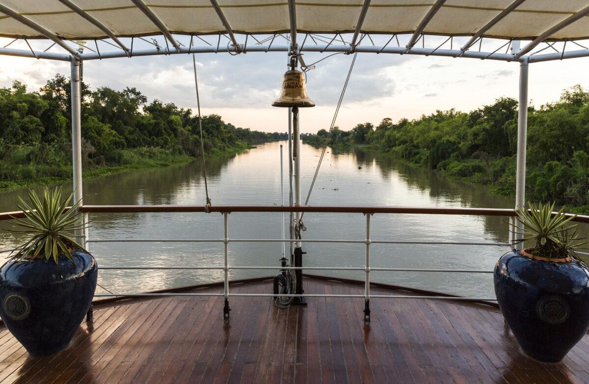 Et flod cruise på Myanmars idylliske floder
