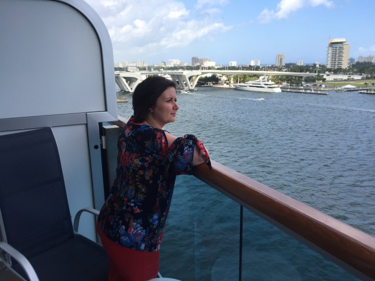 Embarkation day in Port Everglades