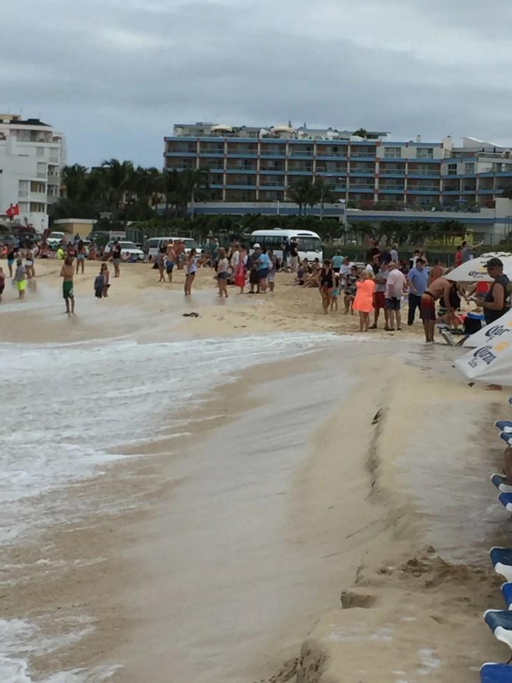 Aeroplane Beach, St Maarten
