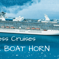 The Princess Cruises Love Boat horn