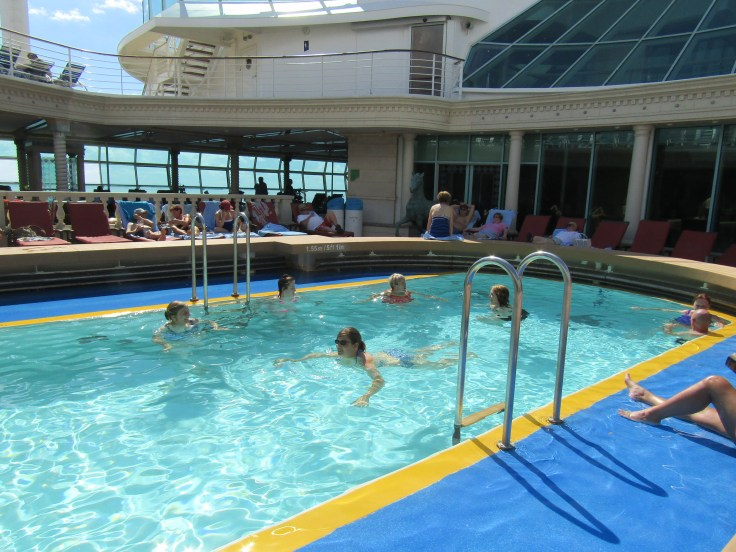 Royal Caribbean pool