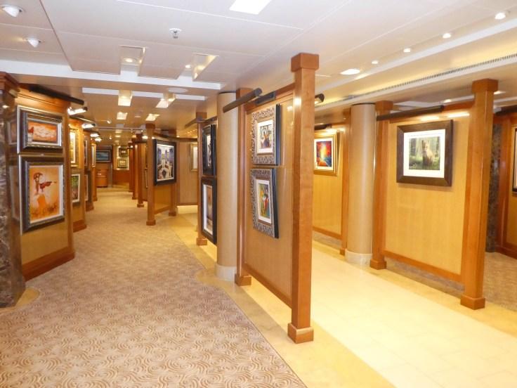 The Art Gallery on Sapphire Princess