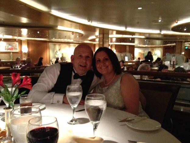 dining on Grand Princess cruise to Hawaii