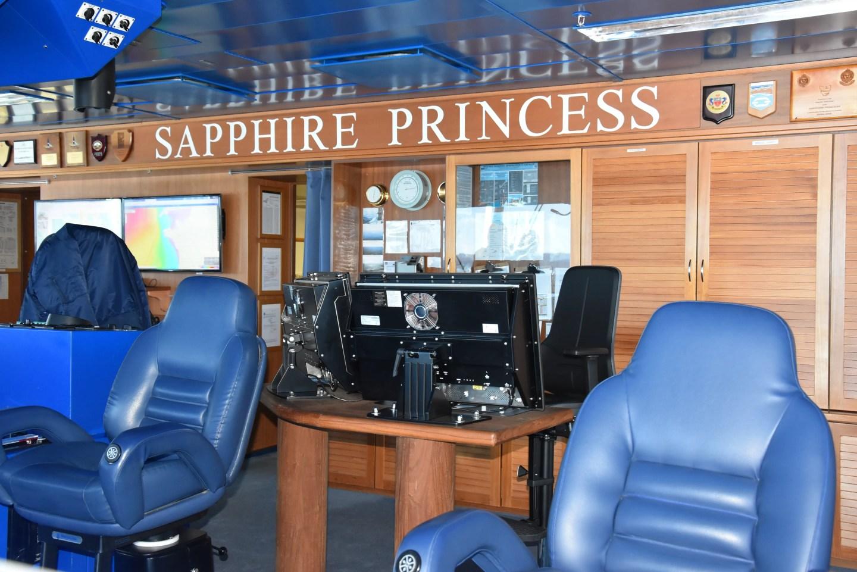 Sapphire Princess bridge