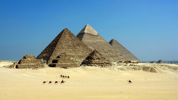 The Great Pyramid is one of the Seven Wonders of the Ancient World