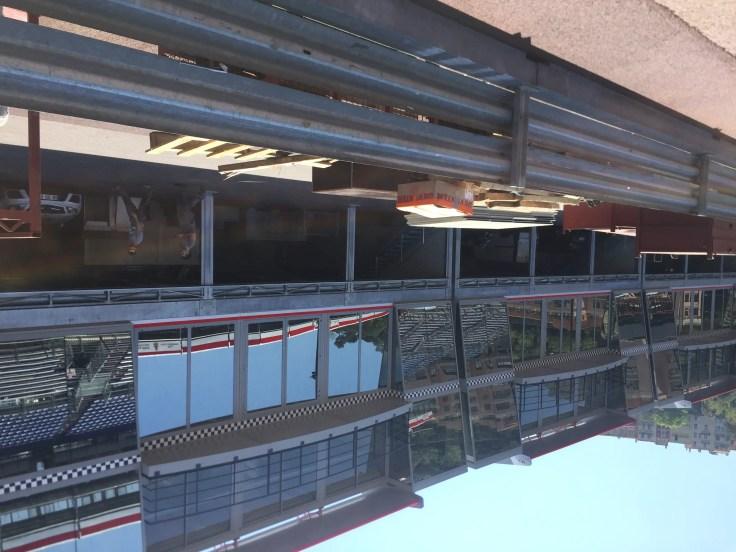 F1 pits Monaco
