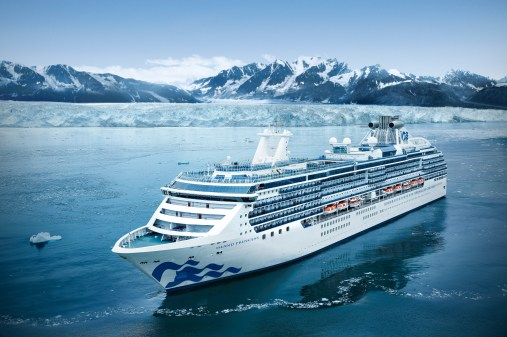 Princess cruises cancellation policy  ship in Alaska