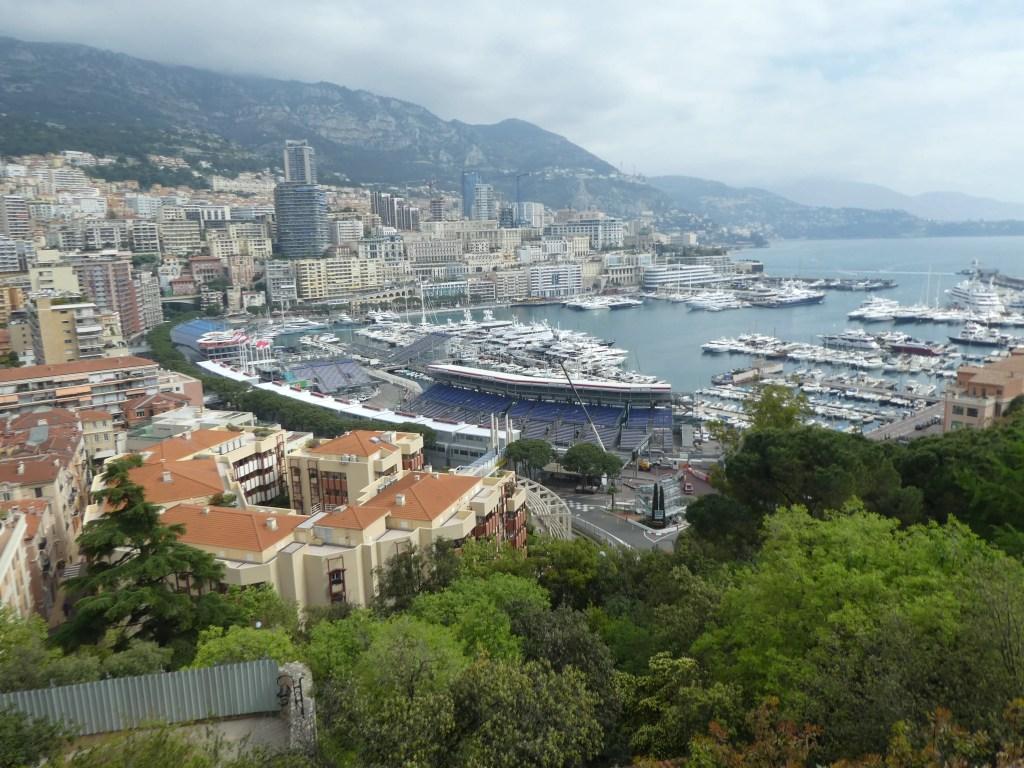 monaco cruise harbour