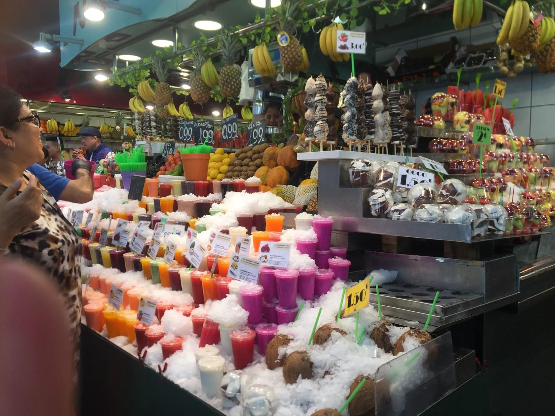 fruit la boqueria Las Ramblas