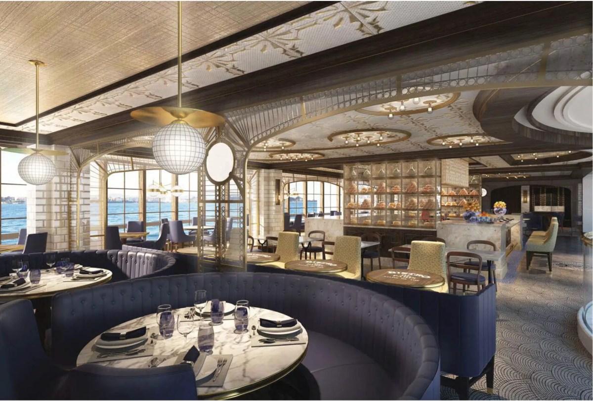 Sky Princess: Speciality Restaurant 'La Mer'
