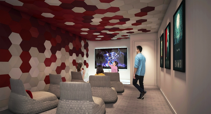 recreation room ultimate family suite Spectrum of the Seas