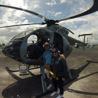 Hawaii Helicopter Tour over a Volcano (doors off!)