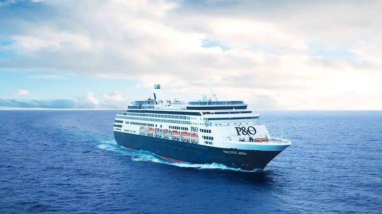 P&O Pacific Aria cruise ship
