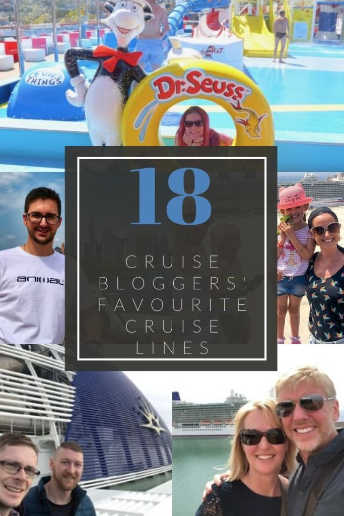 Which cruise should I book? Help is here with 18 cruise bloggers sharing their favourite cruise lines and why they love them.