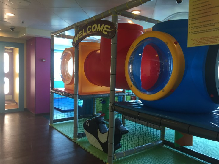 The Tree House for 3 to 7 year olds on Royal Princess cruise ship