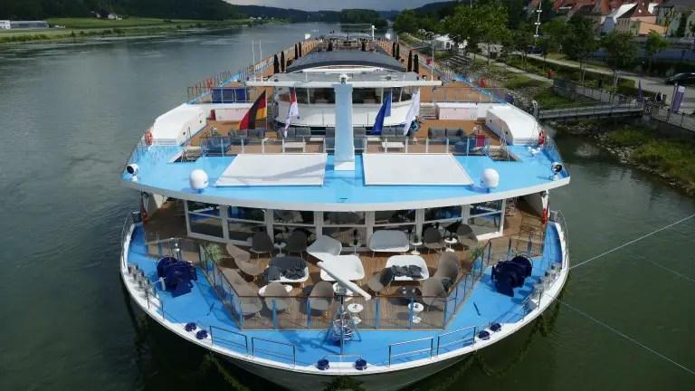 Amawaterways free cruises to key workers AmaMagna river cruise ship