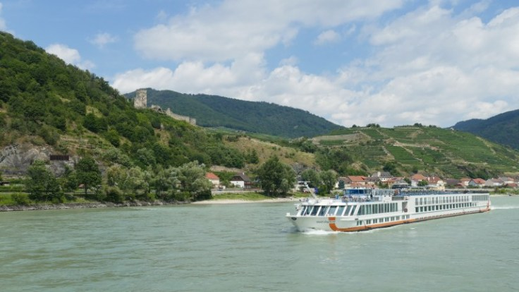 river cruise ship on the Danube river
