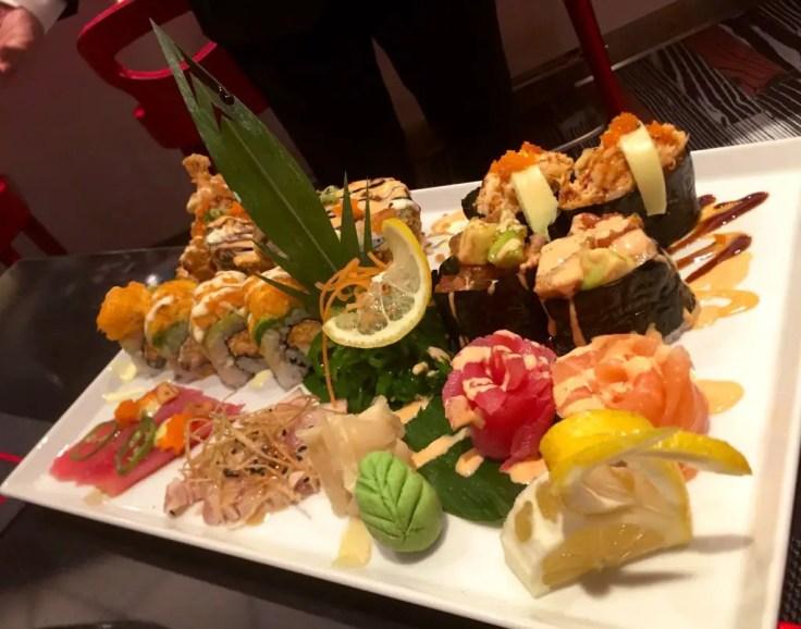 Izumi Sushi chef special dish