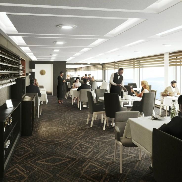 Havila Voyages dining