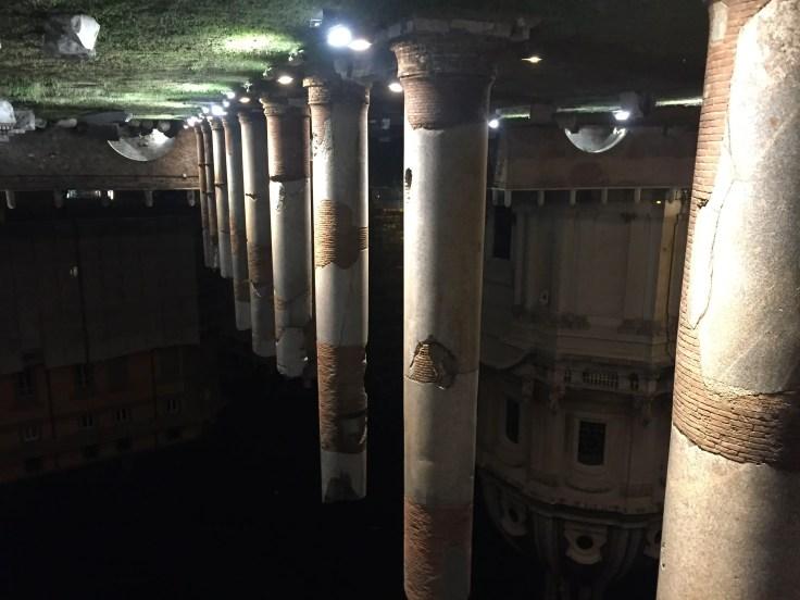Forum of Caesar viggio nei fori