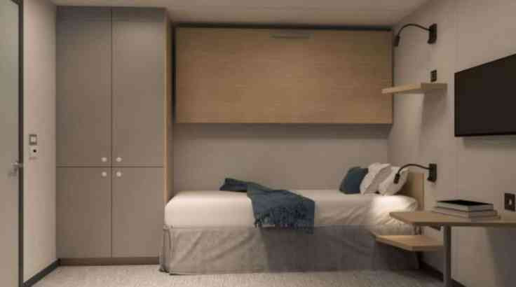 Interior cabin Havila Voyages