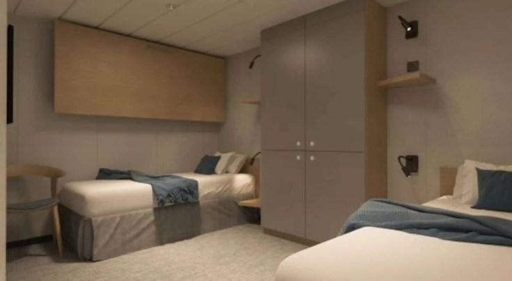 Interior plus cabin Havila voyages