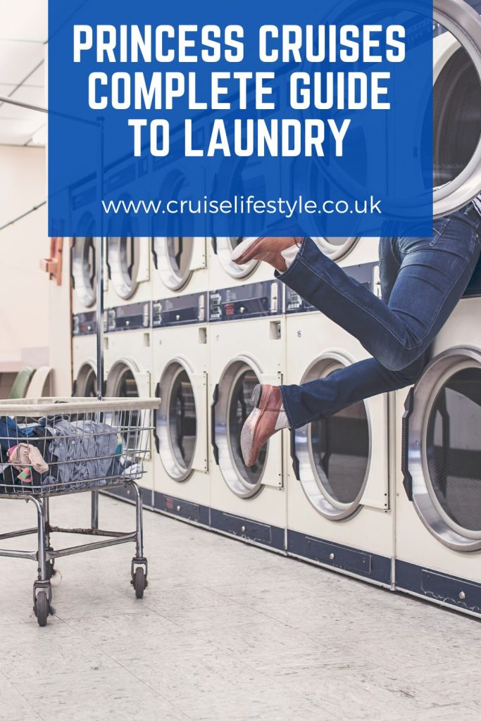 A complete guide to Princess Cruises laundry services, including tips and tricks about how onboard self-service launderettes work.