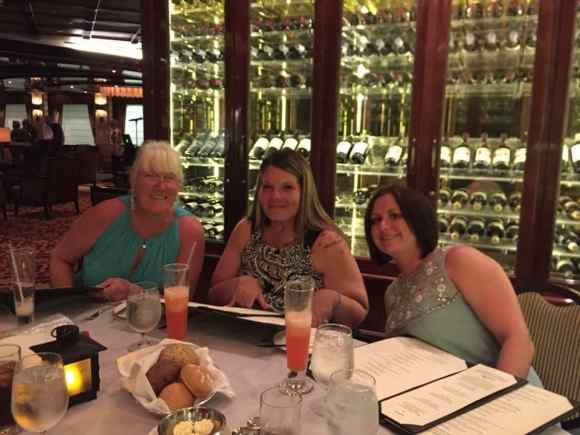 Dining at Crown Grill, Regal Princess