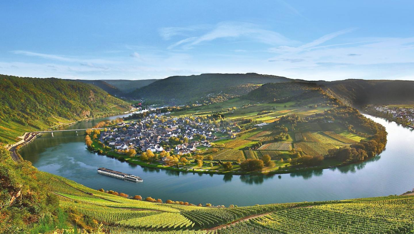 Moselle Bend will feature in the longest river cruise ever with AmaWaterways