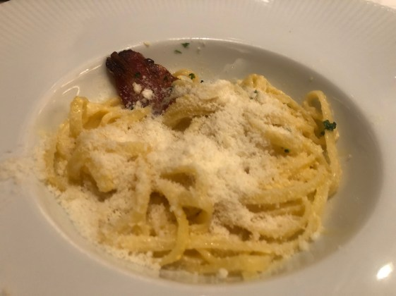 Sabatinis Trattoria menu pasta