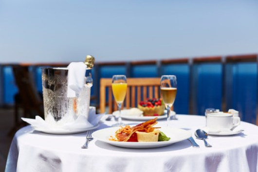 Ultimate Balcony dining experience